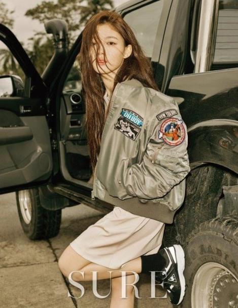 Kim Yoo-Jung Majalah SURE Februari (2)