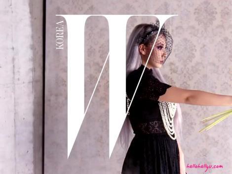 Kumpulan Foto CL dan Harin untuk W Korea (1)