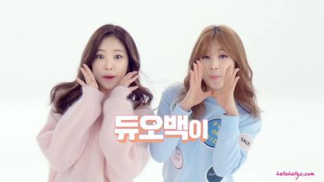 Kumpulan Foto Naeun dan Chorong APink Promo DUOBACK (1)