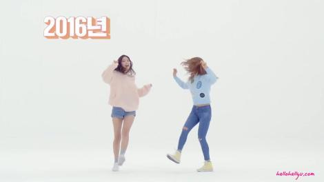 Kumpulan Foto Naeun dan Chorong APink Promo DUOBACK (3)