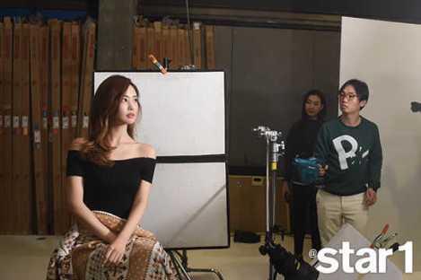 Lee Da Hae Majalah @star1 Januari (3)