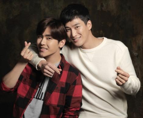Hoya atau Lee Ho-won (kiri) dan Ahn Bo-hyun