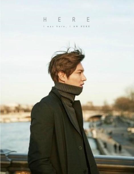 Lee Min Ho 'I Was Here, I Am Here' Photobook