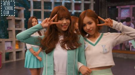 Lovelyz's pretty selfies from After School Club!! (17)