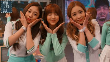 Lovelyz's pretty selfies from After School Club!! (28)