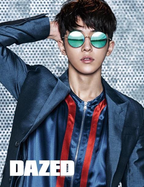 Nam Joo Hyuk Majalah DAZED Februari (1)