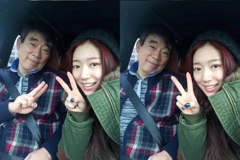 Park Shin Hye dan Ayah