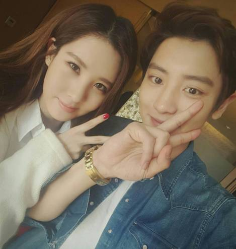 Seohyun SNSD dan Chanyeol EXO