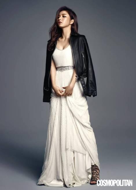 Shin Se Kyung Majalah Cosmopolitan Agustus (1)