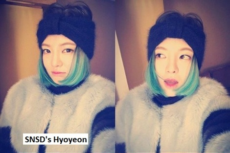 SNSD's Hyoyeon pamer gaya rambut baru
