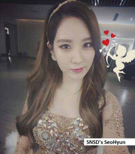 SNSD's SeoHyun memang dewi amor! Cantik banget.