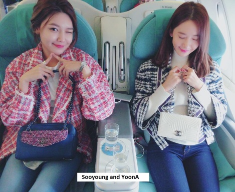 SNSD's Sooyoung and YoonA