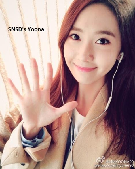 Dengerin lagu apa, Yoona.