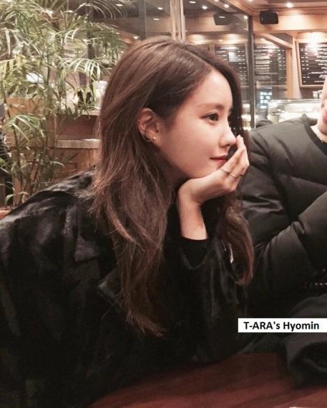 T-ARA's Hyomin