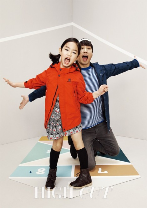 Tablo and Haru for HIGH CUT (1)