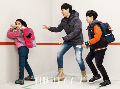 Tablo and Haru for HIGH CUT (2)