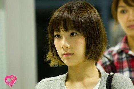 Taeyeon rambut pendek