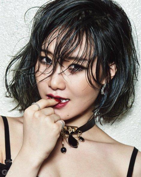Yezi FIESTAR - GQ Korea Februari (1)