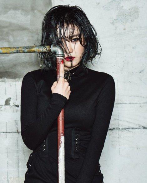 Yezi FIESTAR - GQ Korea Februari (2)
