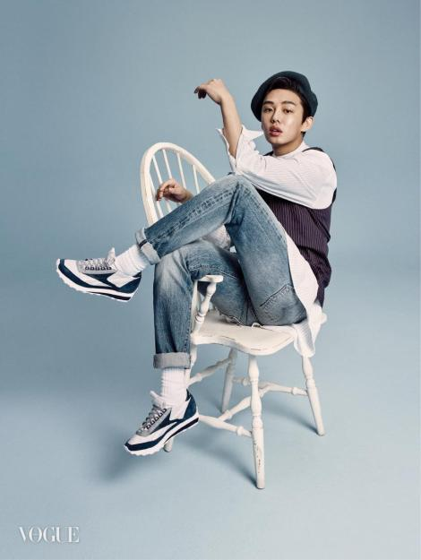 Yoo Ah In for Magazine VOGUE (2)