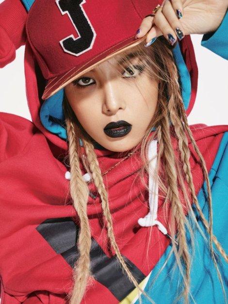 Yubin Wonder Girls Majalah Alure Februari (3)