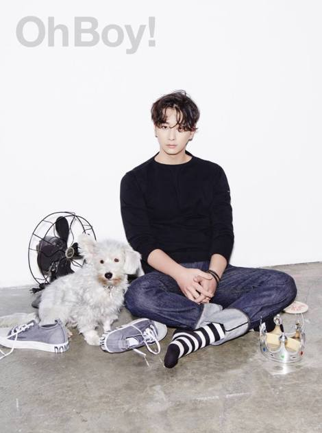 2PM's Chansung for OhBoy! No.64  (2)