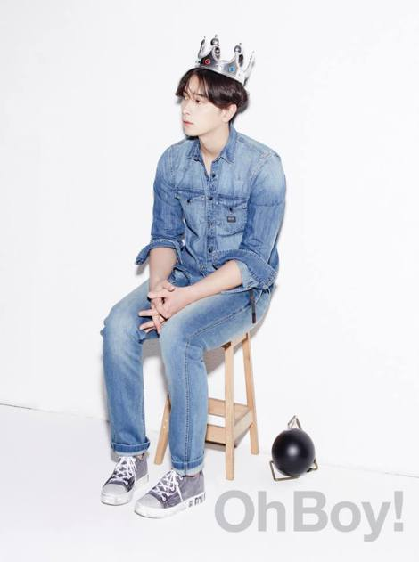 2PM's Chansung for OhBoy! No.64  (3)