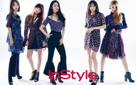 4minute for InStyle March 2016 (1)
