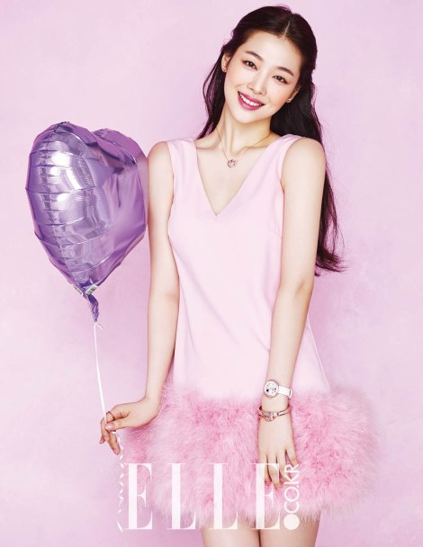 Choi Sulli for ELLE Magazine March Issue 2016 (3)