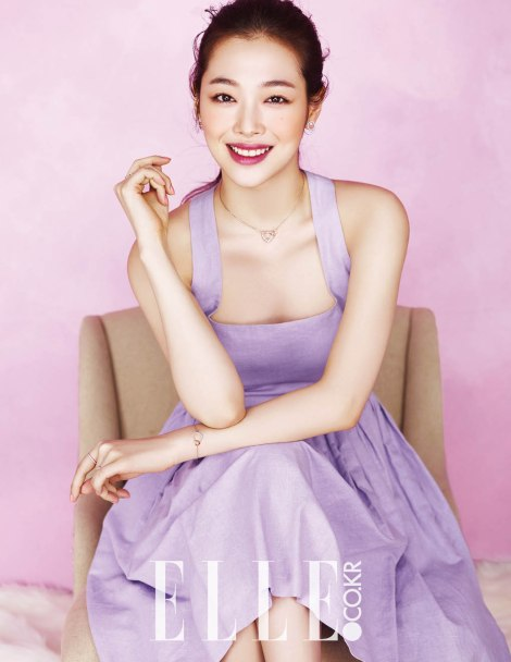 Choi Sulli for ELLE Magazine March Issue 2016 (4)