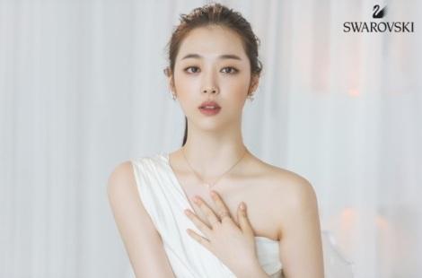Choi Sulli for Swarovski Pictorial (1)