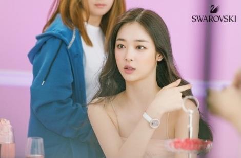 Choi Sulli for Swarovski Pictorial (5)