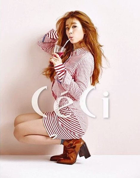Chorong Apink for CeCi Magazine March 2016 (1)