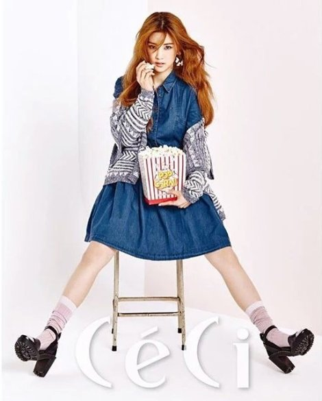 Chorong Apink for CeCi Magazine March 2016 (2)