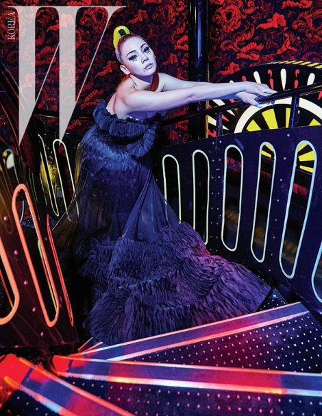 CL 2NE1 for Magazine W Korea March 2016 (1)
