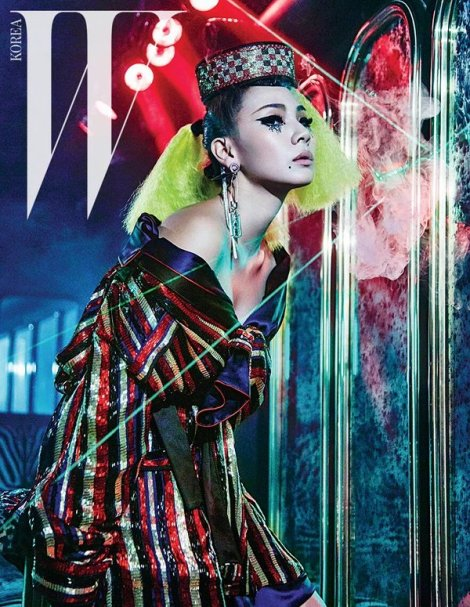 CL 2NE1 for Magazine W Korea March 2016 (2)