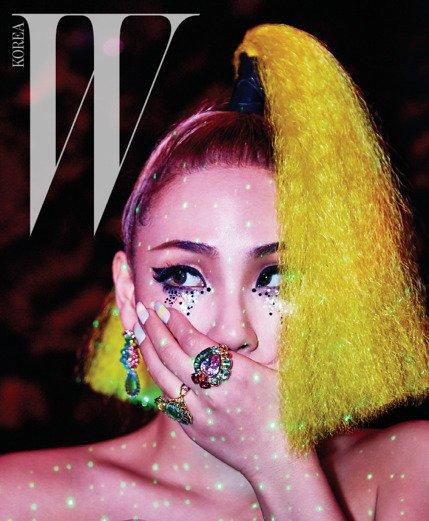 CL 2NE1 for Magazine W Korea March 2016 (3)