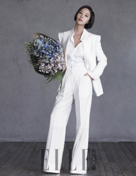 Hwang Jung Eum's wedding pictorial for ELLE magazine (3)