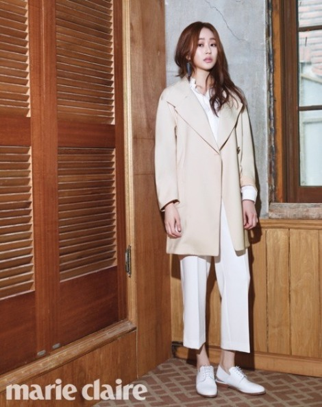Kim Hyo-jin for Marie Claire Korea March 2016 (2)