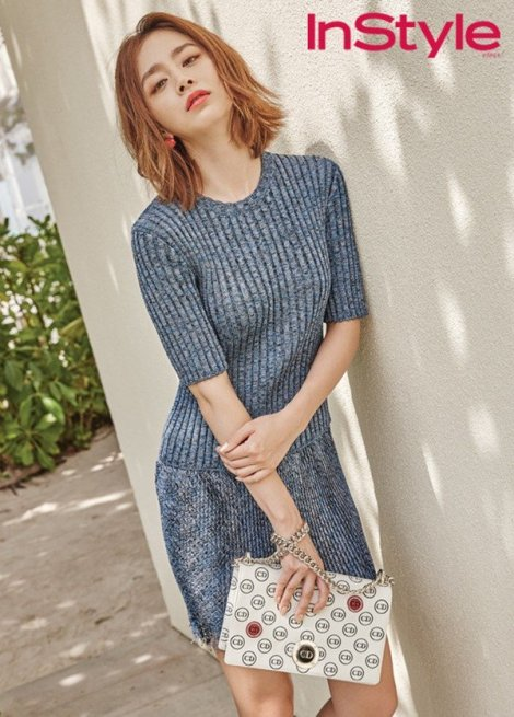 Kim Tae-hee for 'InStyle' Magazine (3)