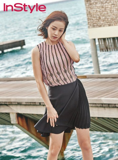 Kim Tae-hee for 'InStyle' Magazine (5)