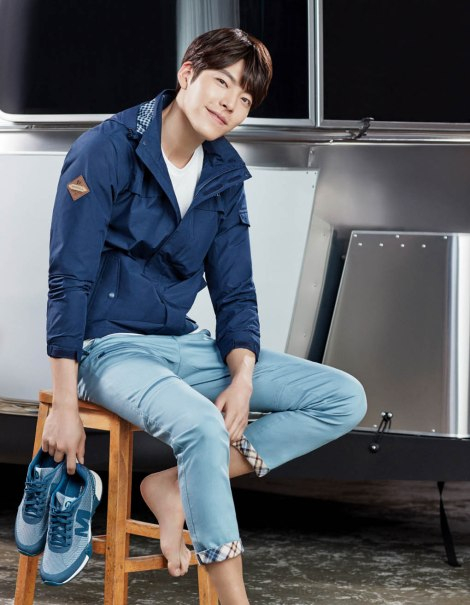 Kim Woo Bin for Merrell Korea 2016  (1)