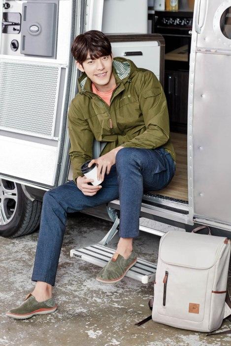 Kim Woo Bin for Merrell Korea 2016  (2)