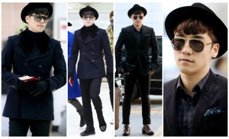 Kumpulan Foto Seungri BIG BANG dalam Airport (1)