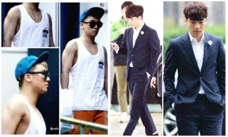 Kumpulan Foto Seungri BIG BANG dalam Airport (10)