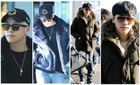 Kumpulan Foto Seungri BIG BANG dalam Airport (11)