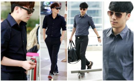 Kumpulan Foto Seungri BIG BANG dalam Airport (13)