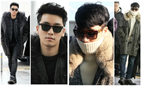 Kumpulan Foto Seungri BIG BANG dalam Airport (14)