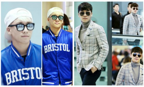 Kumpulan Foto Seungri BIG BANG dalam Airport (3)