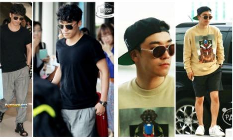 Kumpulan Foto Seungri BIG BANG dalam Airport (4)